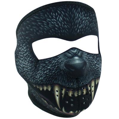 Image WNFM416 ZAN® Full Mask- Neoprene- Silver Bullet