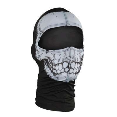 Image WBN002 ZAN® Balaclava- Nylon- Skull