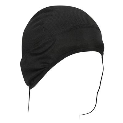 Image WHLC114 COOLMAX Skull Cap- Black