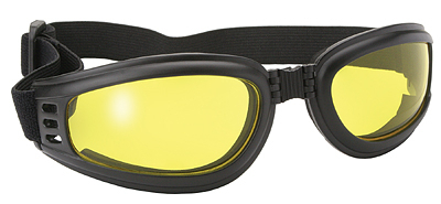 45212 Nomad Goggle Black Frame- Yellow Lens