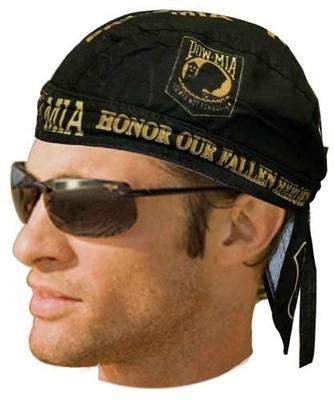 Image HW2602 Headwrap POW/MIA