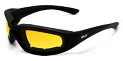 Image Foam-Yellow Maxx Foam Black Yellow Lens
