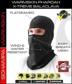 BLCLV011 Pharoah Deluxe II Balaclava- StormGear Botton- WarmSkin Top With