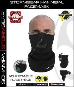 Image VNG006 StormGear Hanibal Facemask w/ Velcro Closure/ Nose Opening