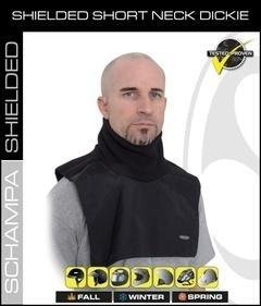 Image TD011 Dickie- Shielded Short Neck- Half Chest Back
