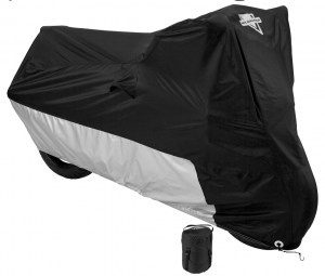 Image MC-904 Bike Cover- Black/Silver