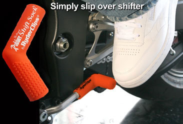 Image RSS-ORANGE Rubber Shift Sock- Orange