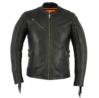 Image DS880 Women's Stylish Jacket with Fringe